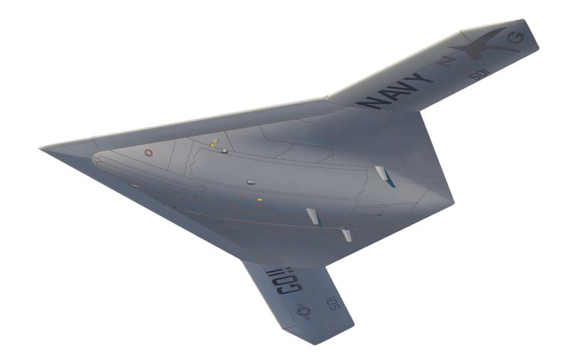 X-47B 飛行状態