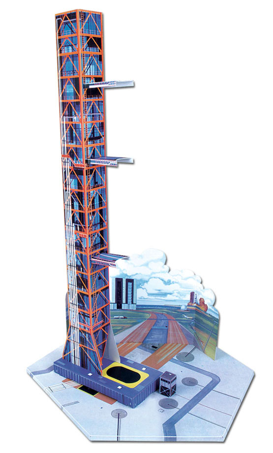 AMT 1/200 アメリカ宇宙開発史ロケットセット
