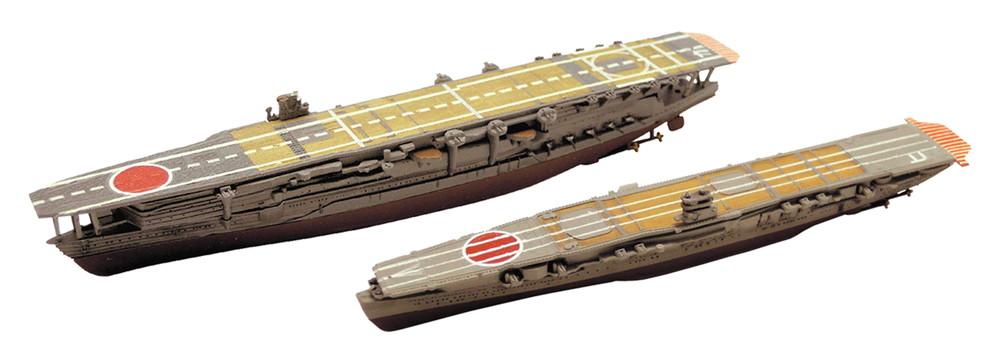 プラッツ 1/2000 アズールレーン 加賀&飛龍 2艦セット (半塗装済みキット) - ウインドウを閉じる