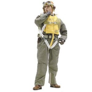"DRAGON 1/6 ""George Taylor"" Pearl Harbor P-40 Pilot"