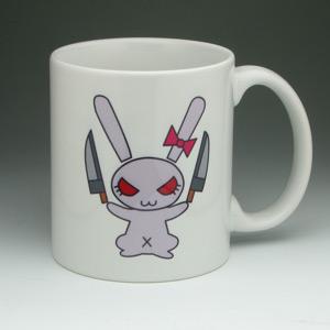 ウサギさんチームマグカップ