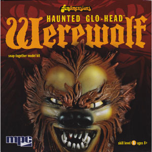 MPC HAUNTED GLO-HEAD WEREWOLF/狼男
