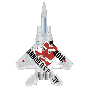 PLATZ 1/72 F-15J EAGLE 40th Anniversarry Special Marking