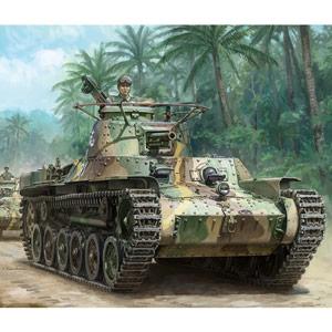 """ドラゴン 1/35 WW.II 日本陸軍九七式中戦車""""チハ""""前期型"""