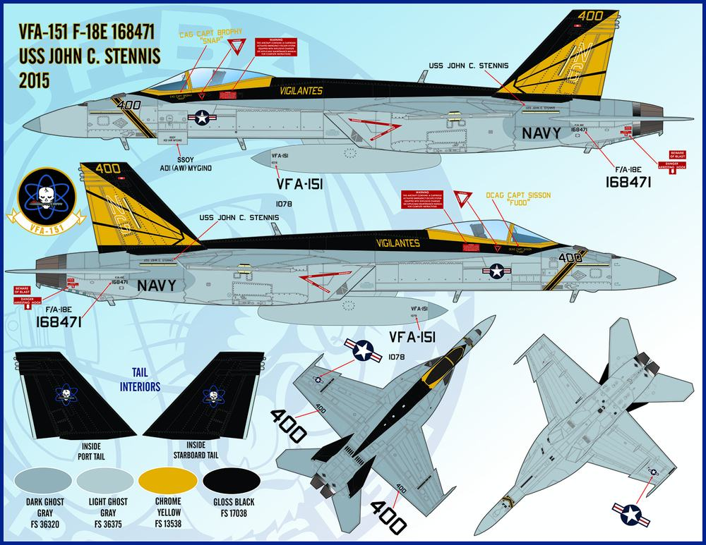 FURBALL AERODESIGN 1/48 F/A-18E/F SuperHornet Part.3