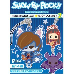 SHOW BY ROCK!! ラバーマスコット Vol.2