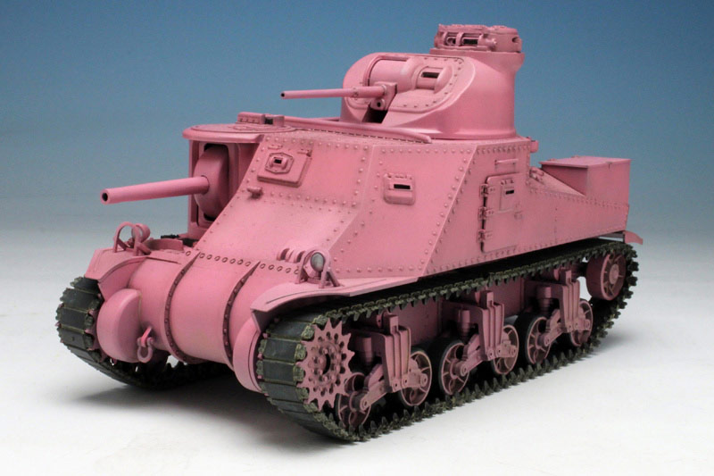 プラモ ガルパン 【プラモ】ガルパンM4シャーマン戦車を組み立ててみた