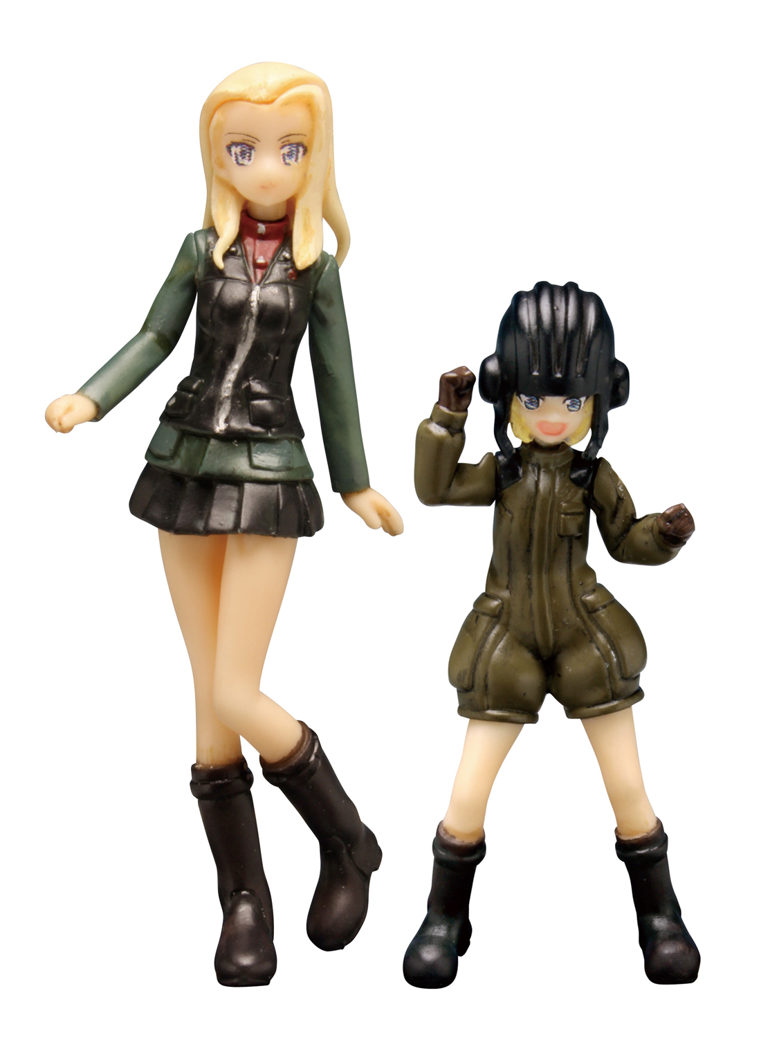PLATZ 1/35 PURAVDA HIGH SCHOOL Katyusha&Klara Figure set