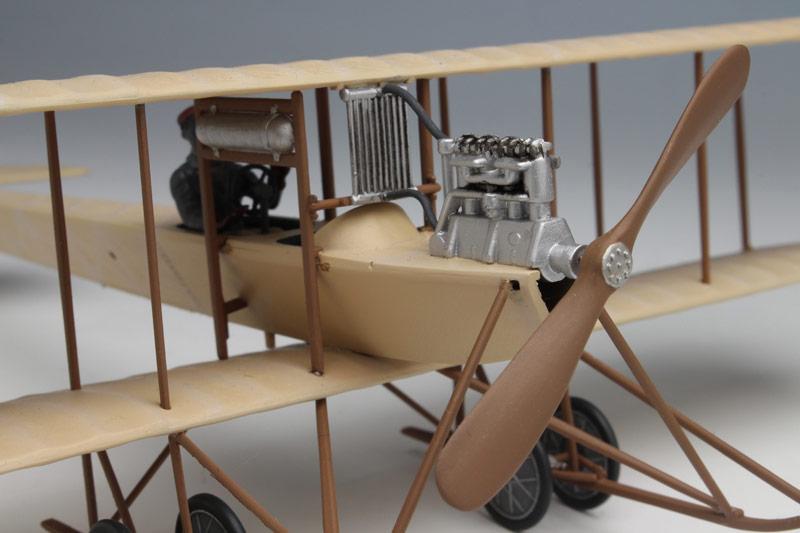 リンドバーグ 1/48 アブロD型複葉機 (48... リンドバーグ 1/48 アブロD型複葉機