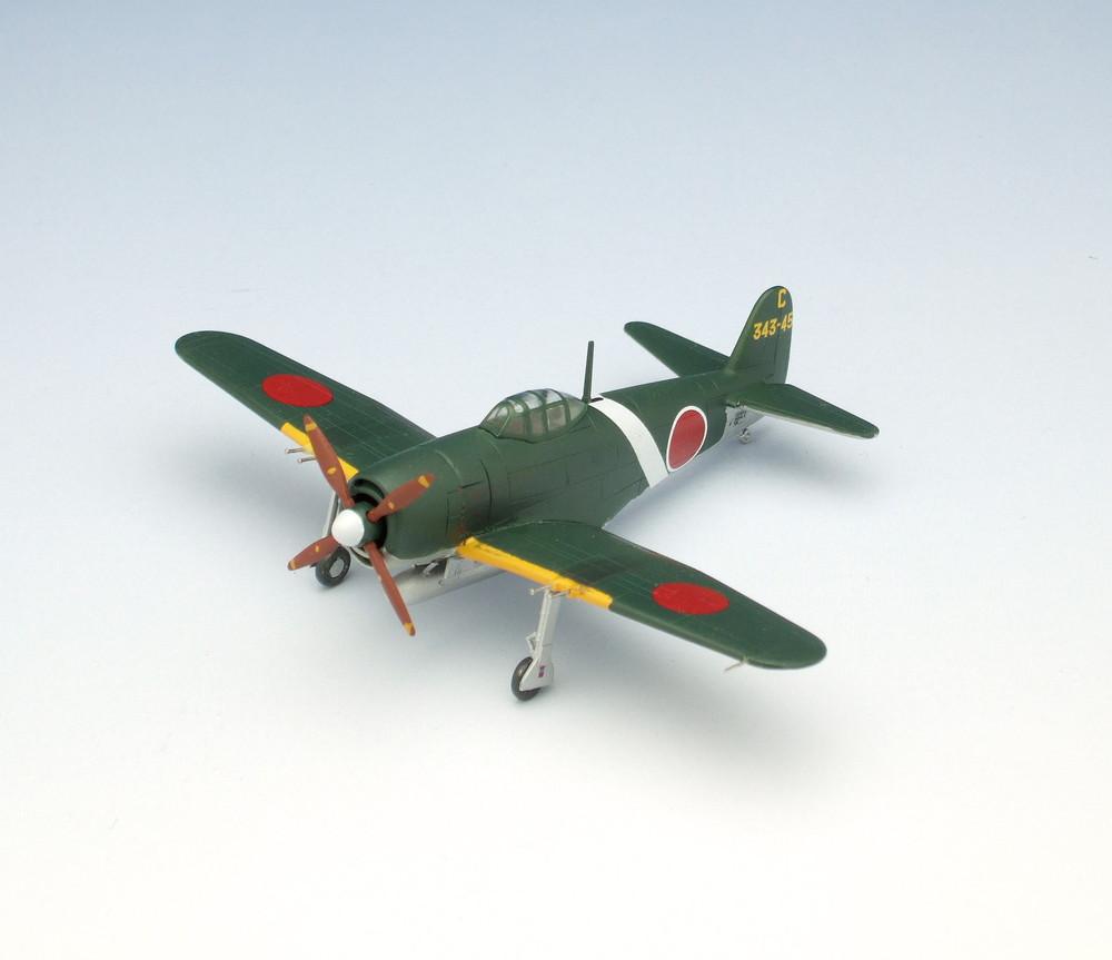 プラッツ 1/144 日本海軍 局地戦闘機 紫電改 (後期型) (2機セット) - ウインドウを閉じる
