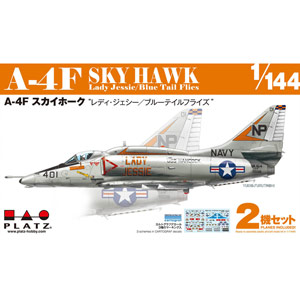 "PLATZ 1/144 A-4F Skyhawk ""LADY JESSIE/ BLUE TAIL FLIES""(2 kits)"
